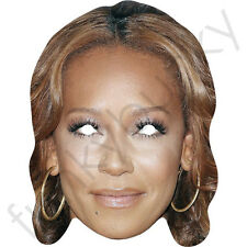 Mel B - Melanie Brown Cardboard Celebrity Mask - X Factor and Scary Spice Girls