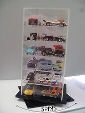 Hot Wheels,  Johnny Lightning, Treasure Hunt 1:64  Spinning Display Case