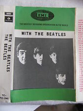 Cassette 'WITH THE BEATLES' EMI rare early recording stereo