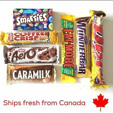 Assorted Canadian Chocolate Candy Bars - 7 Pack FREE SHIPPING