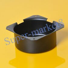 1pc 150x75mm Black Metal Shield Toroid Transformer Cover Protect Chassis Case