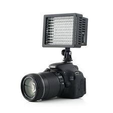 160 LED Studio Video Light For Canon Nikon Camera DV Camcorder Photography UR