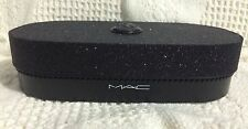 MAC Black Glitter Cameo Keepsake Makeup Case Display NEW Objects of Affection