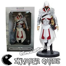 Assassins Creed Fratellanza Ezio Auditore Da Firenze Statua PVC Figure Nuovo Inscatolato