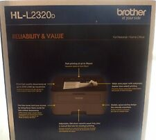 Brother HL-L2320D Mono Laser Printer Print Speed: up to 30ppm USB 2.0 interface