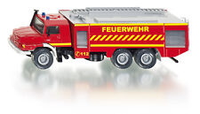 NEW 2109 SUPER SIKU Mercedes Benz Zetros Fire Engine Ladder 1:50 Diecast Model