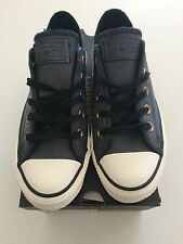 Converse Unisex Chuck Taylor Lo Vintage Leather Black Size 6 Womens  4 Mens