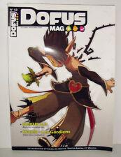 MAGAZINE OFFICIEL DE DOFUS  DOFUS ARENA ET WAKFU N°12 OCTOBRE NOVEMBRE 2009