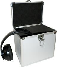 ALUMINUM CARRY STORAGE CASE DJ EQUIPMENT CD DVD PHOTOGROPHY CAMERA MUSIC BOX