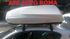 BOX AUTO PORTATUTTO PORTASCI G3 HELIOS 480 BIANCO MADE IN ITALY OMOLOGATO