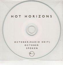 (GU114) October / Spoken, Hot Horizons - DJ CD