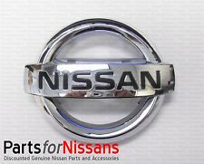 Genuine Nissan Front Grille Emblem 2007-2008 Maxima 2004-2012 Sentra NEW OEM