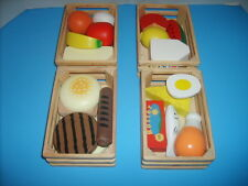 Melissa and Doug Wooden Food Groups--Kids Pretend Play So Cute
