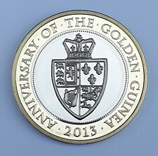 2013 PROOF £2 350th Anniversary Of The First Golden Guinea Two Pound Proof Coin