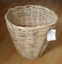 Ikea Large Round Rattan storage basket for shop display or home decor