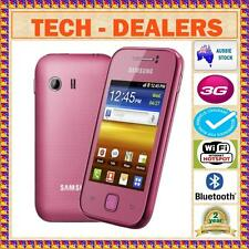 **UNLOCKED**SAMSUNG GALAXY YOUNG S5360 PK+3G+WIFI+BLUE TICK+BLUETOOTH+FM+MP3+GPS