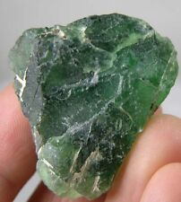 #5 100% Natural Raw Rough Green Fluorite For Facet Specimen 156.40Ct or 31.28g