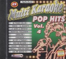 Bacilos Chayanne Thalia Mana Dj Bobo Pop Hits Vol 4 Karaoke New Nuevo sealed