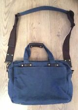 John Lewis denim men shoulder bag