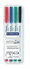 Staedtler Lumocolor Whiteboard Marker Pens Drywipe Medium - Pack 4