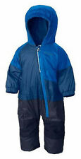 NWT COLUMBIA LITTLE DUDE SUIT BLUE WATERPROOF OUTGROWN BUNTING SNOWSUIT 6-12 M