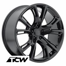 "17x8"" Jeep Grand Cherokee SRT8 2012 OE Replica Gloss Black Wheels 5x127 5x5"" +34"