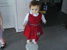 Vintage Ideal Toy Corp. DOLL 28 INCHES TALL