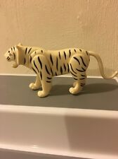 PLAYMOBIL~White~Bengal~Tiger~Animal~Zoo~Jungle # 4233~Rare