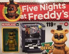 *McFarlane Five Nights at Freddy's* THE OFFICE CONSTRUCTION SET - 119 pcs!!