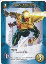 VISION Upper Deck Marvel Legendary SOLAR ENERGY