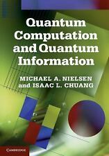 Quantum Computation and Quantum Information : 10th Anniversary Edition by...