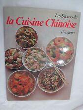 """""""Les secrets de la Cuisine Chinoise 177 recettes"""" /Editions Grund 1977"""
