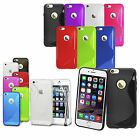 FM Ultra Slim Grip S Line Soft TPU Silicone Gel Case Cover For All iPhone Phones