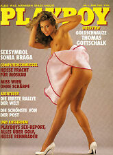 Playboy 04/1985   Schauspielerin SONIA BRAGA   April/1985