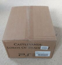 NEW&SEALED Castlevania Lords Of Shadow 2 Dracula's Tomb Collector's Edition PS3