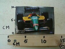 STICKER,DECAL BENETTON FORD FORMULA ONE,F1, 1496 CCM, 850PS
