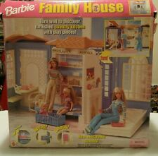 Mattel 1998 Barbie Family House w/Real Electric Sounds. New