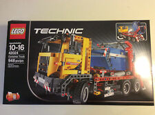 New Seal Retired LEGO Technic 42024 Container Truck 2-in-1 Road Grader 948 Pcs