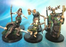 Dungeons & Dragons Miniatures Lot  Player Character Party Seasoned !!  s100