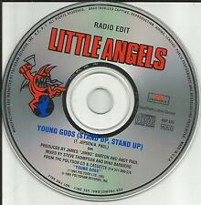 Toby of Gun LITTLE ANGELS Young Gods Stand up w/ RADIO EDIT PROMO DJ CD single