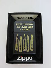 ZIPPO protects from a Bullet SPECIAL EDITION il Vietnam era US ARMY WWII wk2 OVP