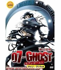 DVD 07 - Ghost (TV 1 - 25 End) DVD with English SUB + Free Gift + Free Shipping