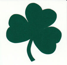 Reflective Notre Dame Fightin Irish shamrock 1.75 inch fire helmet decal sticker