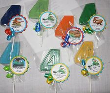 12 The Good Dinosaur Arlo and Spot Gourmet chocolate 4th Birthday Party Favors