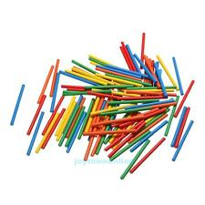 100pcs Colorful Bamboo Counting Sticks Kids Preschool Math Learning Toy Gift
