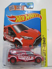 HOT WHEELS 2015  HW OFF ROAD - HOT WHEELS  FORD TRANSIT CONNECT - CUSTOM