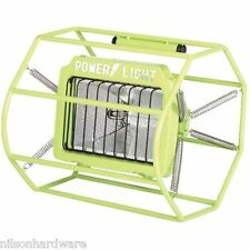 500 Watt Halogen Cage Floor Space Portable Work Shop Stand Light Fixture L-113