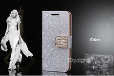 Bling-Bling Glossy Gilter Wallet Flip Case Cover For iPhone 6 & Plus 5 5S 5C