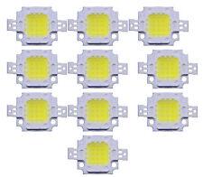 10PCS 10W LED Pure White High Power 600-800LM LED Lamp SMD Chips Light Bulb 12V