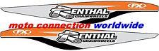 RENTHAL KTM OEM FACTORY EFFEX SWINGARM STICKERS FOR KTM SXF250 SXF350 2011-2014